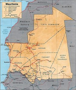 Mauritania Tracce